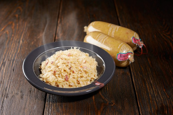 Sauerkraut fix & fertig im Darm