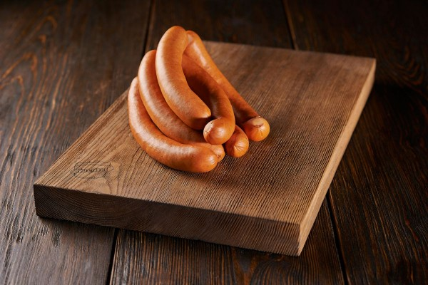 Bockwurst im Naturdarm