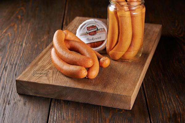 Bockwurst im Glas